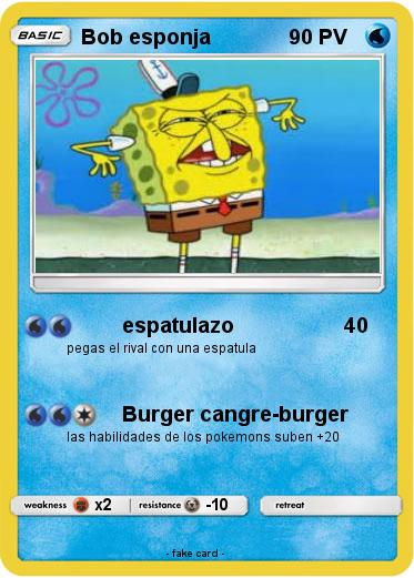 Pokemon Bob esponja