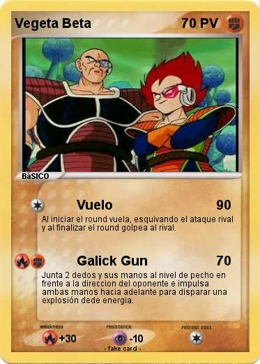 Pokemon Vegeta Beta