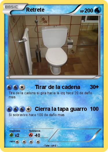 Pokemon Retrete
