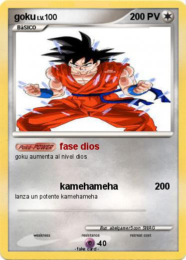 Pokemon goku