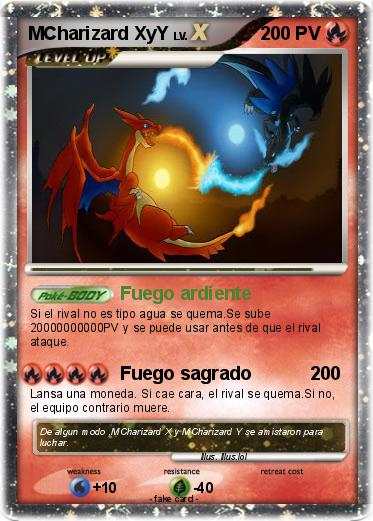 Pokemon MCharizard XyY