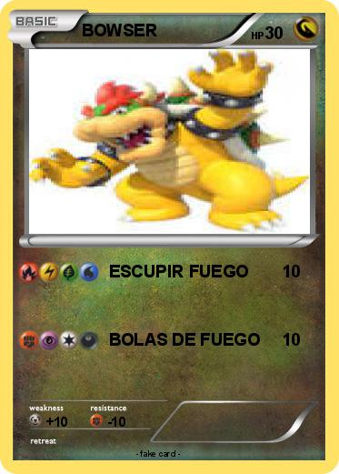 Pokemon BOWSER