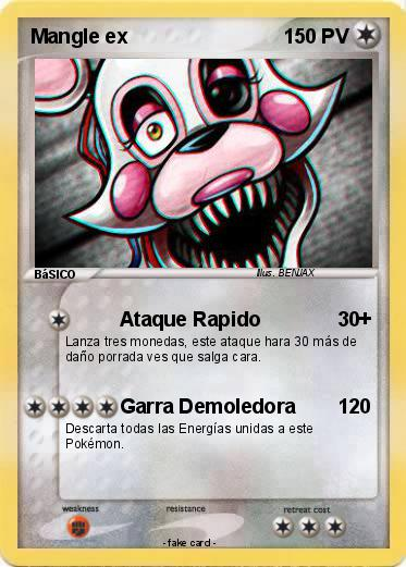 Pokemon Mangle ex