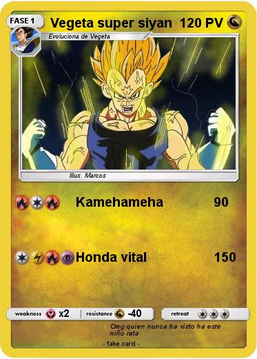 Pokemon Vegeta super siyan