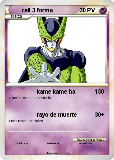 Pokemon cell 3 forma