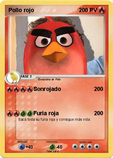 Pokemon Pollo rojo