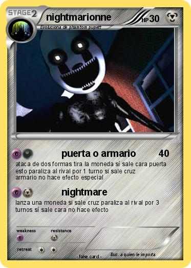 Pokemon nightmarionne