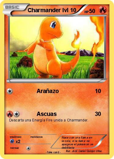 Pokemon Charmander lvl 10