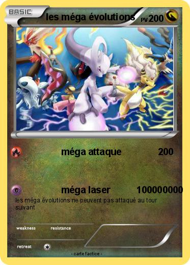 Pok mon les mega evolutions m ga attaque ma carte pok mon - Les mega evolution ...