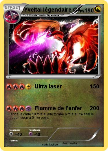 Pokemon Yveltal Legendaire Gx