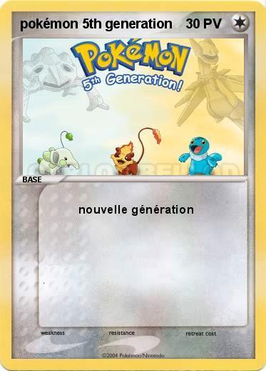 Amazone Cartes Pokemon Nouvelle Generation