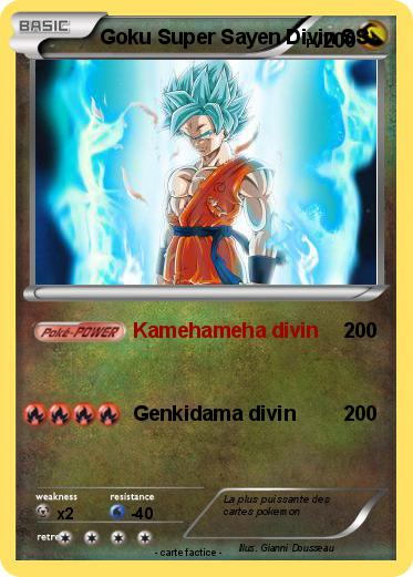 Pokemon Goku Super Sayen Divin Ss