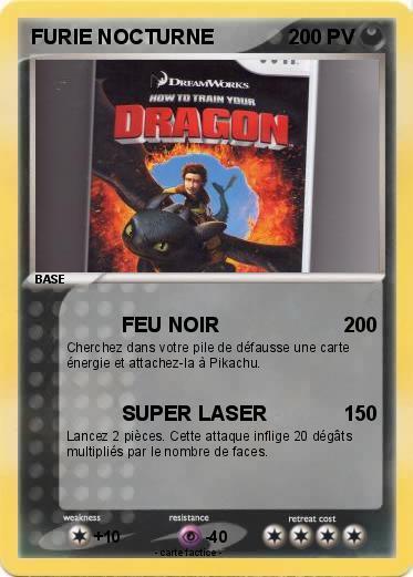 Pok mon furie nocturne 45 45 feu noir ma carte pok mon - Pierre feu pokemon noir ...