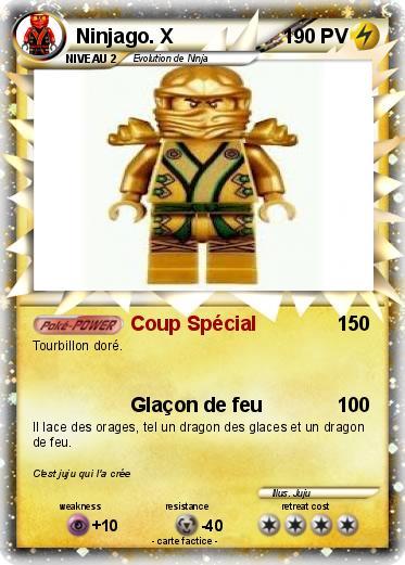 Pok mon ninjago x coup sp cial ma carte pok mon - Carte ninjago ...