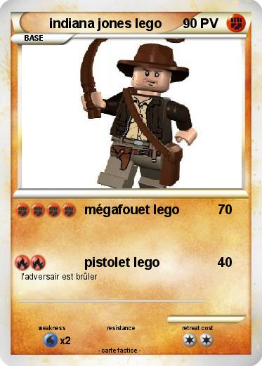 Pok mon indiana jones lego 3 3 m gafouet lego ma carte - Coloriage indiana jones ...
