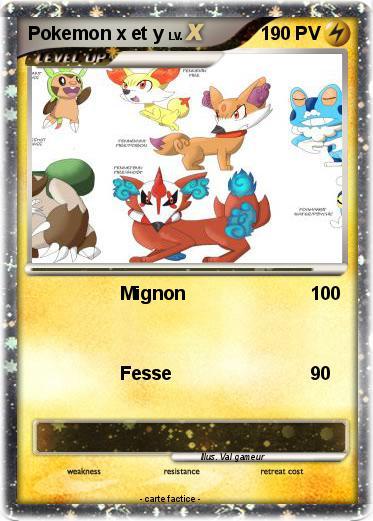 Pok mon pokemon x et y 5 5 mignon ma carte pok mon - Coloriage de pokemon x y ...