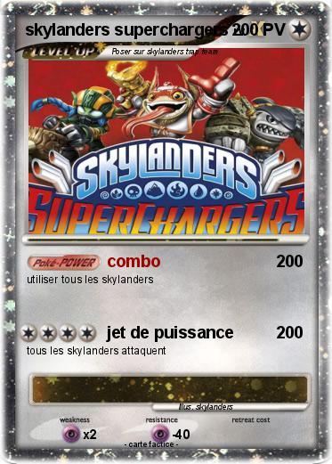 Pok mon skylanders superchargers 1 1 combo ma carte pok mon - Tous les skylanders ...
