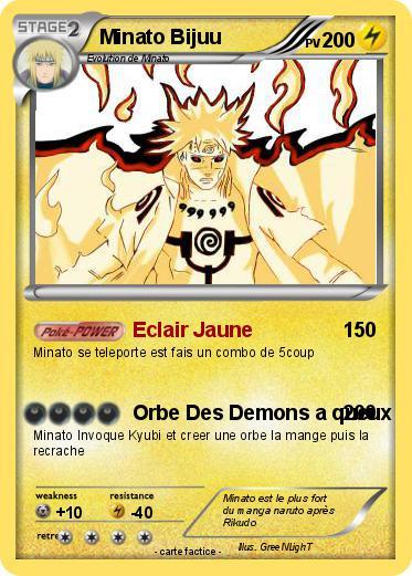 Pok mon minato bijuu eclair jaune ma carte pok mon - Rikudo a imprimer ...