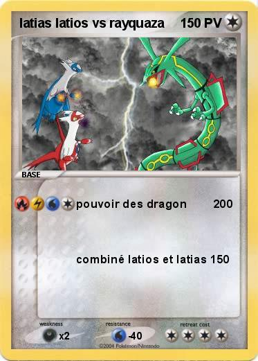 Pokemon latias latios vs rayquaza