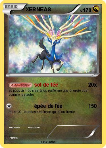 Pok mon xerneas 846 846 sol de f e ma carte pok mon - Carte pokemon fee ...