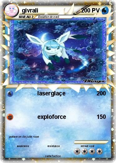 Pok mon givrali 247 247 lasergla e ma carte pok mon - Givrali pokemon ...