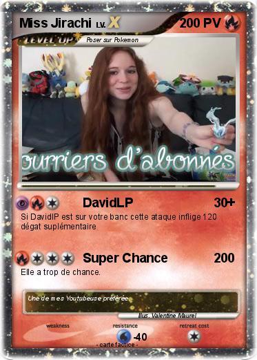 Pok mon miss jirachi 6 6 davidlp ma carte pok mon - Carte pokemon jirachi ...