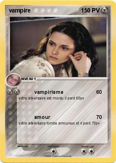 Pok mon vampire 10 10 vampirisme ma carte pok mon - Coloriage vampire diaries ...