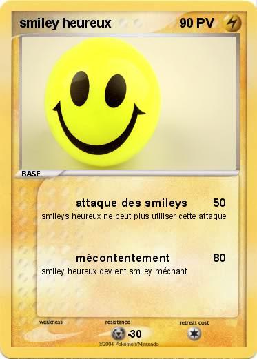 Pokemon Smiley Heureux 1