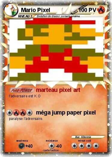 Pokemon Mario Pixel 9