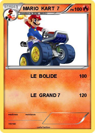 Pok mon mario kart 7 27 27 le bolide ma carte pok mon - Coloriage mario kart 7 ...