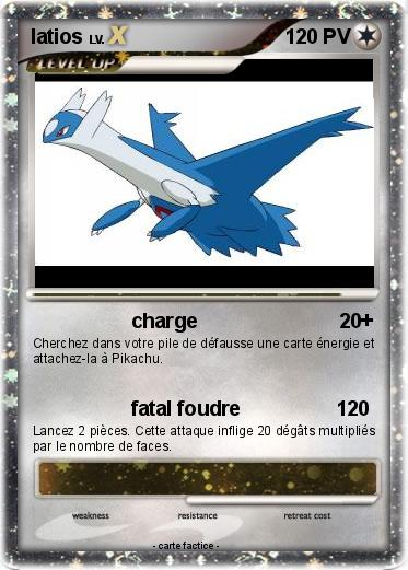 Pokemon latios 645