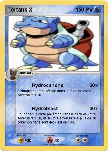 Pok mon tortank x 2 2 hydrocanons ma carte pok mon - Tortank pokemon y ...