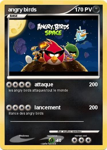 Pok mon angry birds 373 373 attaque ma carte pok mon - Angry birds noel ...