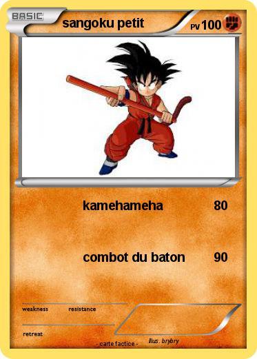 Pok mon sangoku petit 38 38 kamehameha ma carte pok mon - Petit sangoku ...