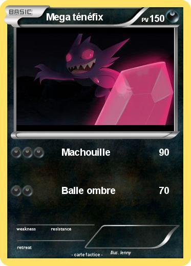 Pok mon mega tenefix 1 1 machouille ma carte pok mon - Pokemon tenefix ...