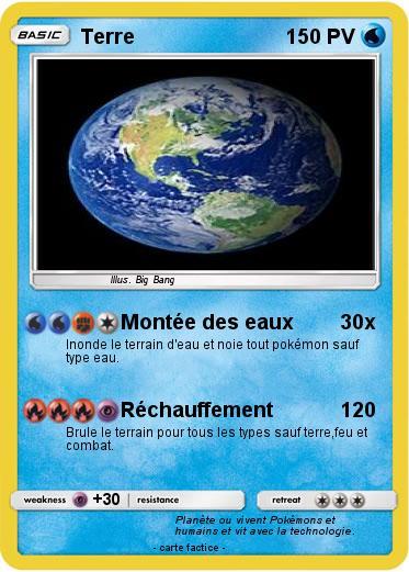 carte d identité de la terre Pokemon Terre 193