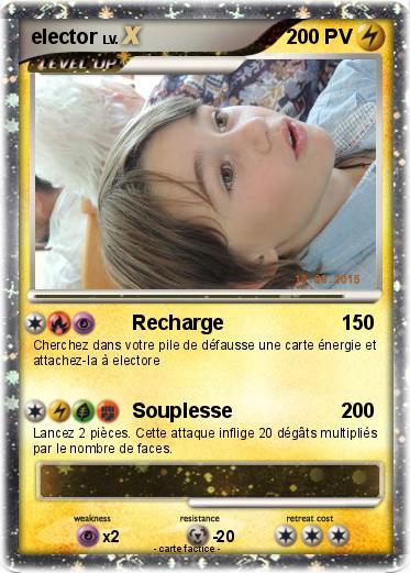 Pok mon elector 330 330 recharge ma carte pok mon - Elector pokemon x ...
