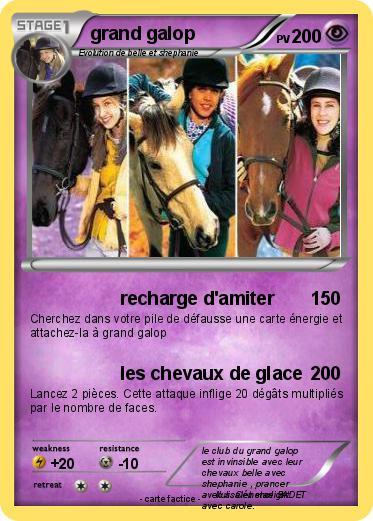 Pok mon grand galop 36 36 recharge d 39 amiter ma carte - Coloriage chevaux grand galop ...