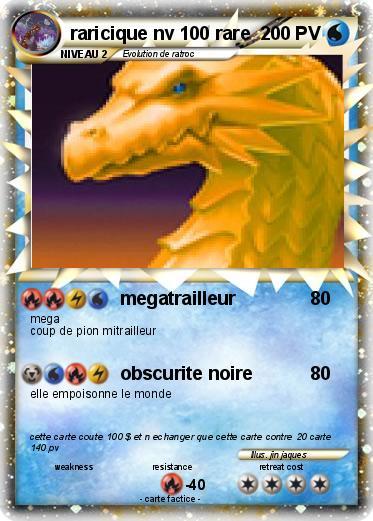 Carte pok mon les plus rares - Les pokemon rare ...