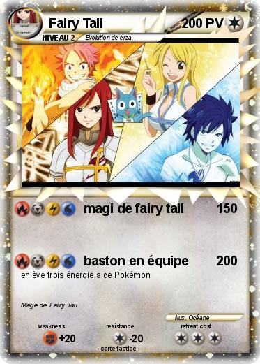 Pok mon fairy tail 74 74 magi de fairy tail ma carte - Fairy tail a colorier ...