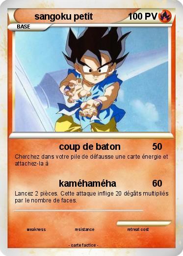 Pok mon sangoku petit 23 23 coup de baton ma carte pok mon - Petit sangoku ...