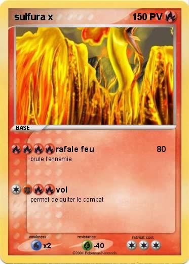 Pokemon y rencontrer sulfura