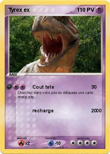 Pokemon Tyrex ex