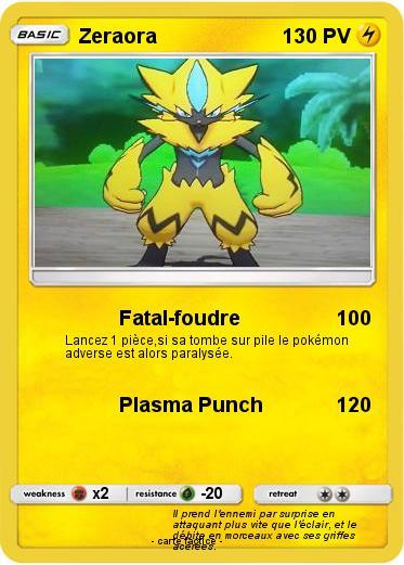 Pokemon Zeraora 48