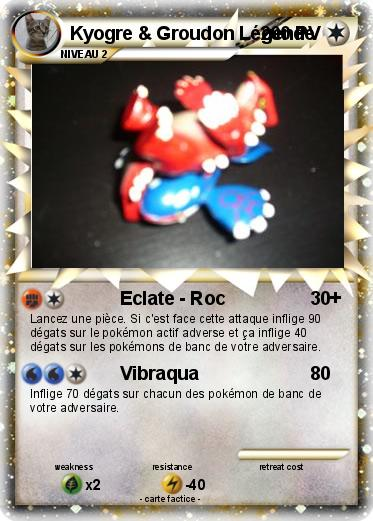Carte pokemon kyogre et groudon legende - Mypokecard com ...