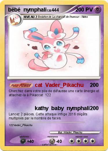 Pokemon Bebe Nymphali