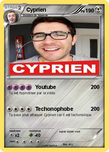 Pok mon cyprien 437 437 youtube ma carte pok mon - Dessin de cyprien ...