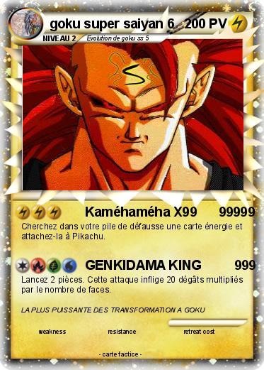 Pokemon Goku Super Saiyan 6 5