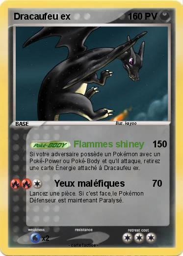 Pok mon dracaufeu ex 129 129 flammes shiney ma carte - Pokemon dracaufeu ex ...