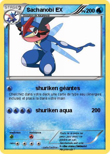 Pok mon sachanobi ex shuriken g antes ma carte pok mon - Carte pokemon coloriage ...